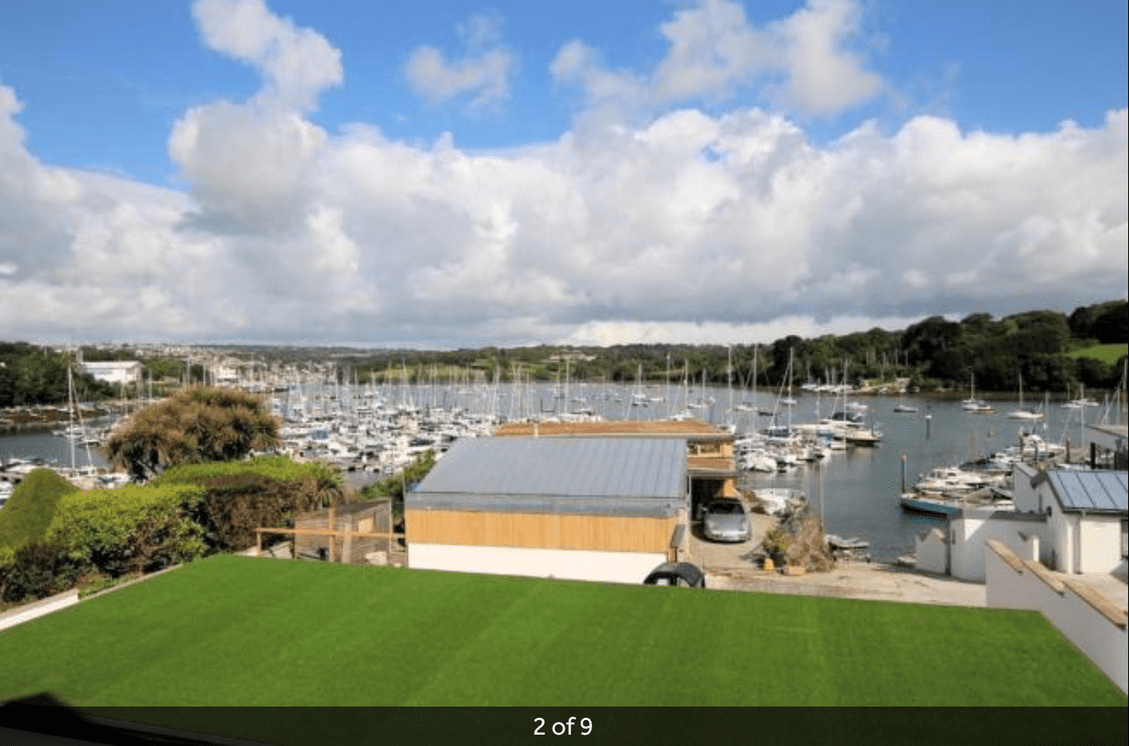 falmouth marina, beautiful views, river estuary,